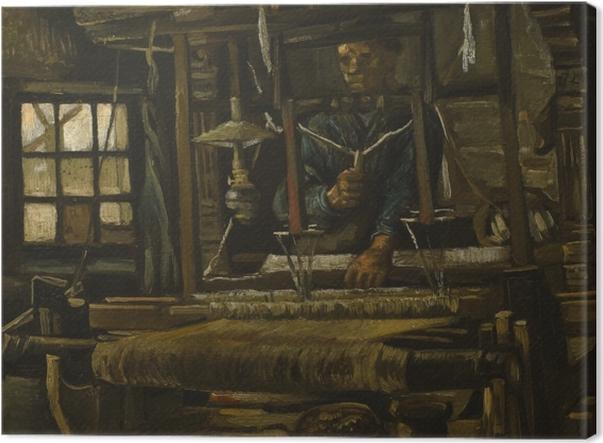 Tableau sur toile Vincent van Gogh - Tisserand - Reproductions