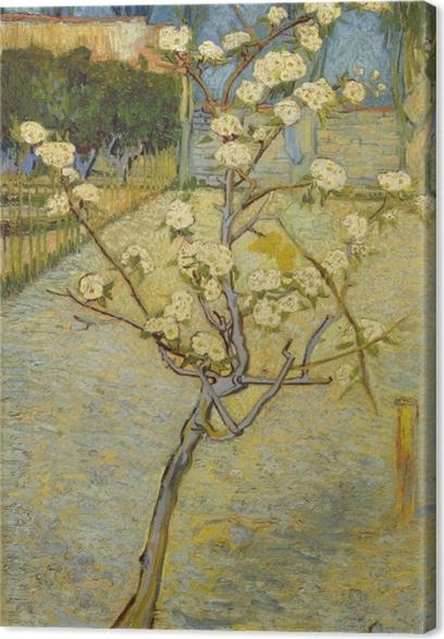 Tableau sur toile Vincent van Gogh - Verger fleurissant - Reproductions