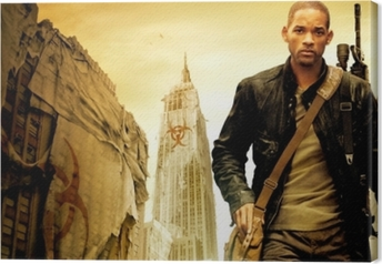Tableau sur toile Will Smith