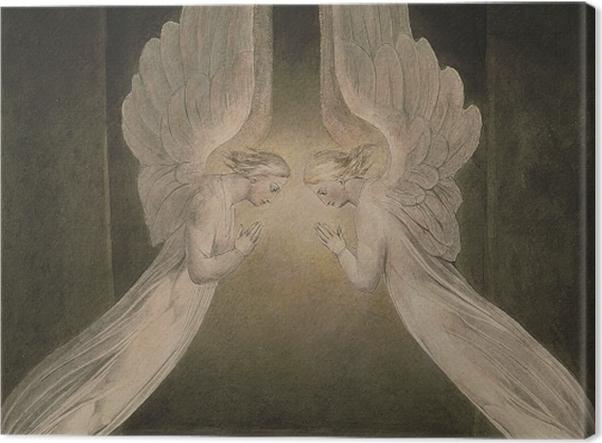 Tableau sur toile William Blake - Christ dans le sépulcre - Reproductions