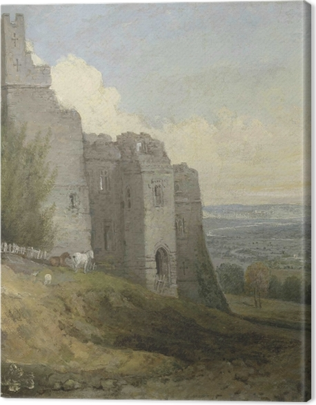 Tableau sur toile William Turner - Château Conway - Reproductions