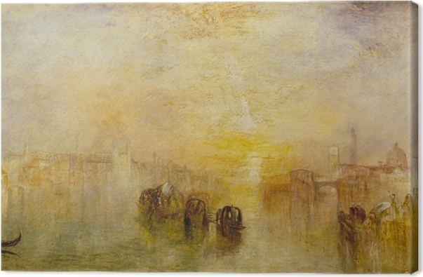 Tableau sur toile William Turner - Going to the Ball (San Martino) - Reproductions