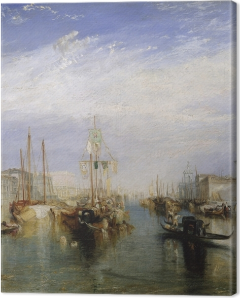 Tableau sur toile William Turner - Grand Canal - Reproductions