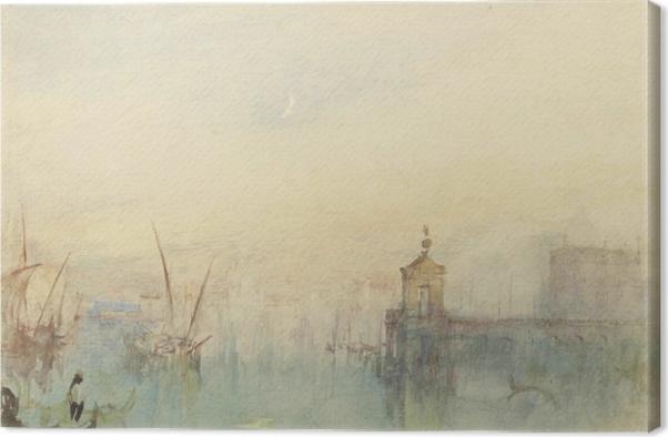 Tableau sur toile William Turner - La Dogana - San Giorgio - Reproductions