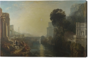 Tableau sur toile William Turner - Le déclin de l'empire carthaginois