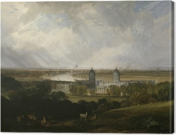 Tableau sur toile William Turner - Londres - Reproductions