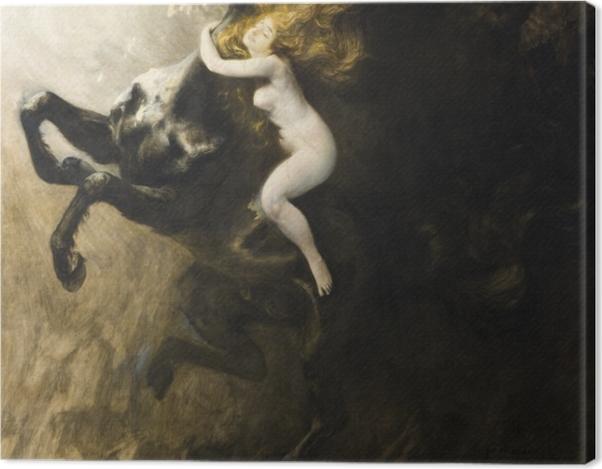 Tableau sur toile Władysław Podkowiński - L'ivresse de l'extase - Reproductions