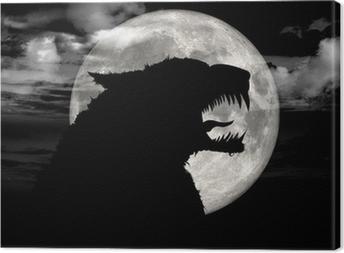 Tableau sur toile Wolfy