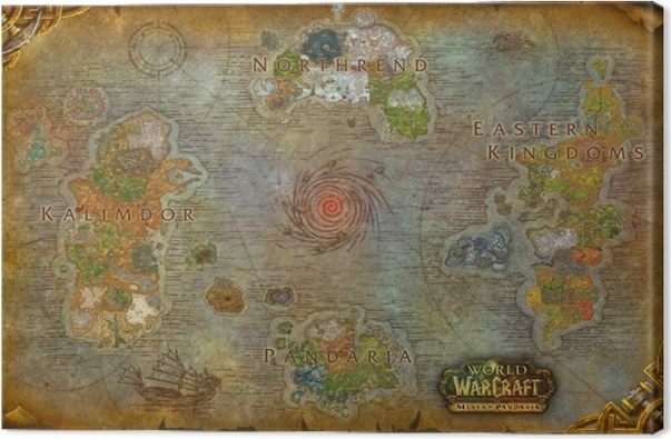 Tableau sur toile World of Warcraft - Thèmes