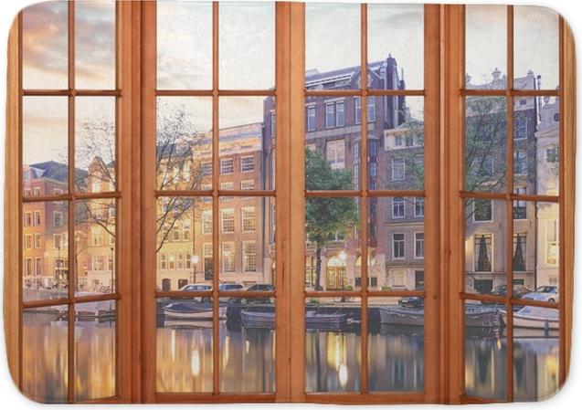 Tappetino Per Bagno Terrazza Amsterdam Paesi Bassi