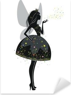 Фея в черном платье Pixerstick tarra