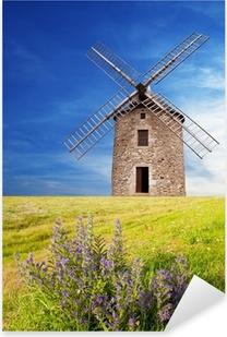 Antico mulino a vento Pixerstick tarra