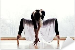 Balettitanssija Pixerstick Tarra