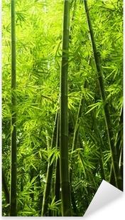 Bamboo metsä Pixerstick Tarra