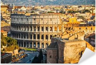 Colosseum auringonlaskun aikaan Pixerstick tarra
