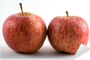 Kaksi omenaa Pixerstick tarra