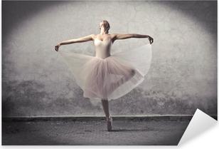 Klassinen ballerina Pixerstick Tarra