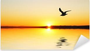 La gabiota al amanecer Pixerstick tarra