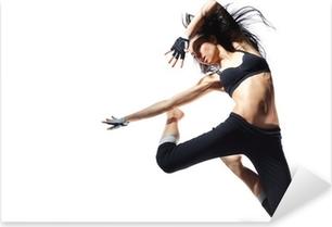 Moderni tanssija Pixerstick tarra