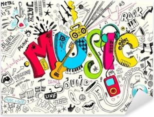 Musiikkijuoste Pixerstick Tarra