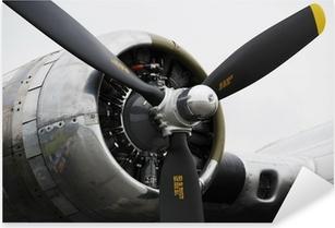 Pommikoneen lentokoneen moottori Pixerstick Tarra