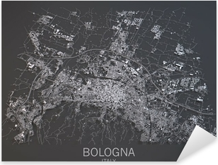 Vista Satellitare Di Bologna Kartta Kartta 3d Osa Tapetti