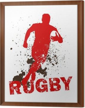 Tavla i Ram Dirty Rugbyspelare