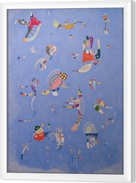 Tavla i Ram Vasilij Kandinskij - Blå himmel