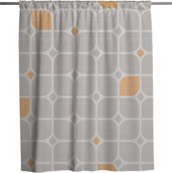 Tenda da doccia Seamless pattern geometrici