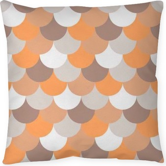 abstract seamless geometric pattern Throw Pillow