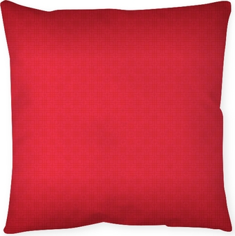 Background image red color with square pattern. Throw Pillow
