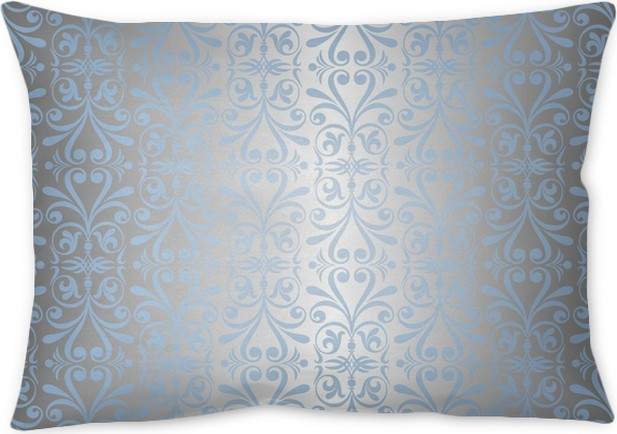 blue silver new years background wallpaper throw pillow