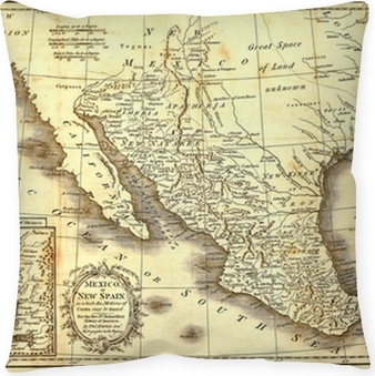 Early map of Mexico, printed in London, 1821.