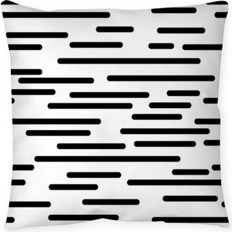 geometric texture with smooth lines Throw Pillow
