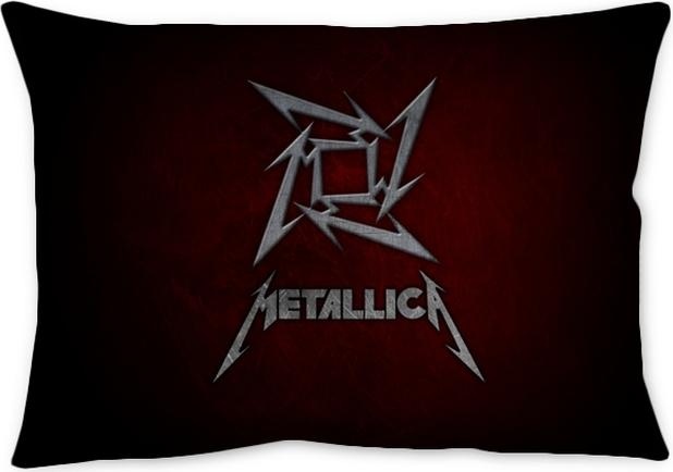 Metallica Throw Pillow Pixers We Live To Change Beauteous Metallica Throw Blanket