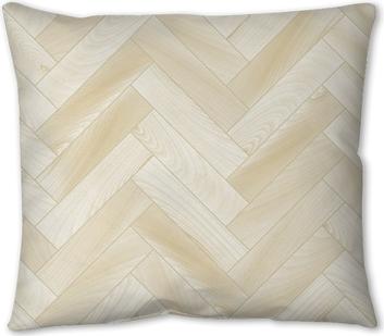 Realistic White Wooden Floor Chevron Parquet Seamless Pattern Throw Pillow Pixers We Live To Change