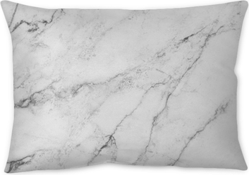 white background from marble stone texture Throw Pillow