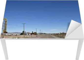 Tischaufkleber und Schreibtischaufkleber Bagdad California - Historic Route 66