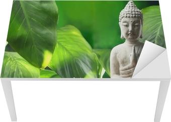 Tischaufkleber und Schreibtischaufkleber Buddha in der Meditation