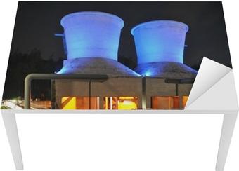 Tischaufkleber und Schreibtischaufkleber Jahrhunderthalle Bochum Kühltürme