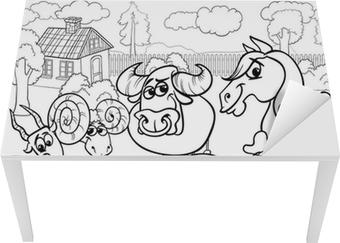 Großzügig Nutztier Färbung Seite Galerie - Entry Level Resume ...