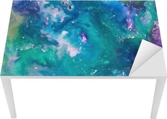 Tischaufkleber und Schreibtischaufkleber Paint texture