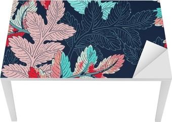 Tischaufkleber und Schreibtischaufkleber Zweig Seamless Pattern