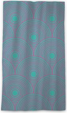Transparant gordijn Vintage abstracte naadloze patroon