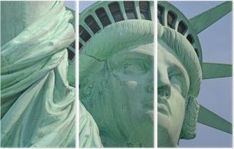 Tríptico Estátua da Liberdade, Liberty Island, New York City
