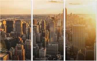 Tríptico Nueva york