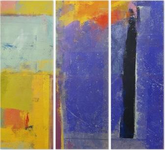 Абстракция Triptych