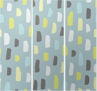 Abstract pattern. Triptych