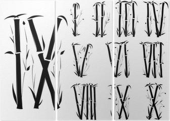 Roman numeral fonts