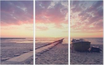 der lange Weg Triptych